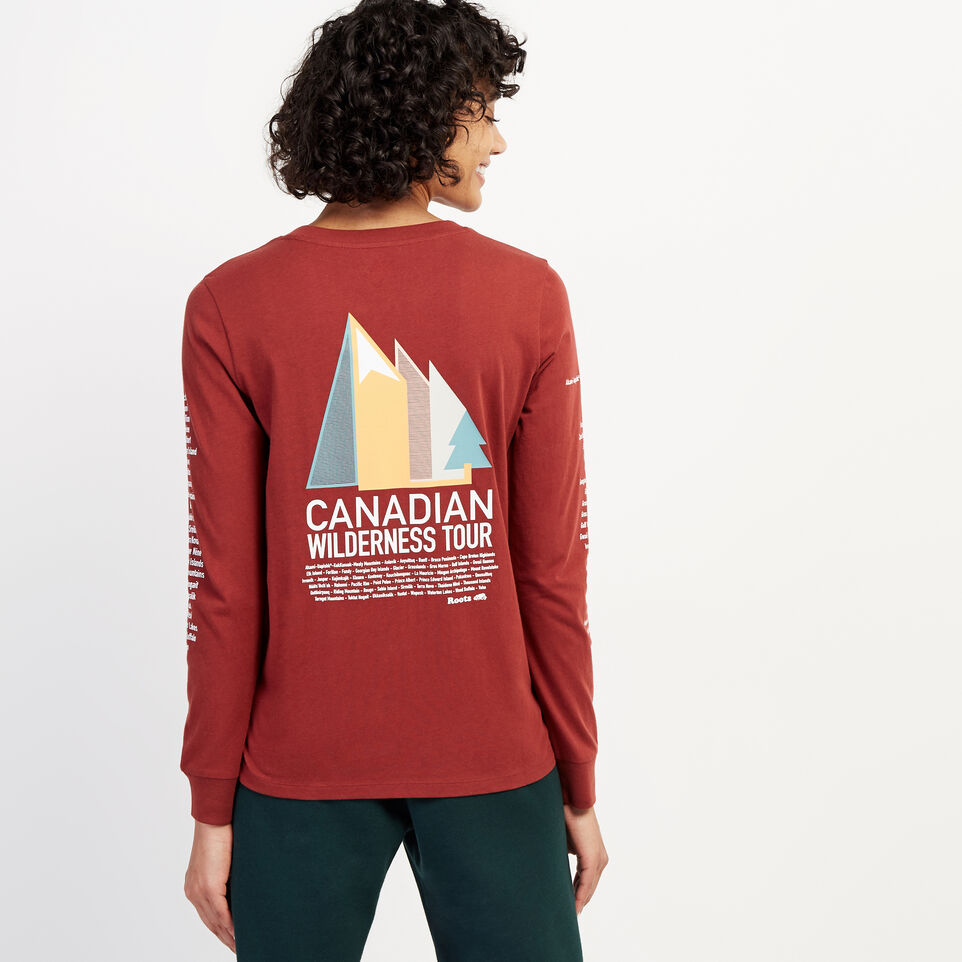 Roots-undefined-Womens Wilderness Tour Long Sleeve T-Shirt-undefined-D