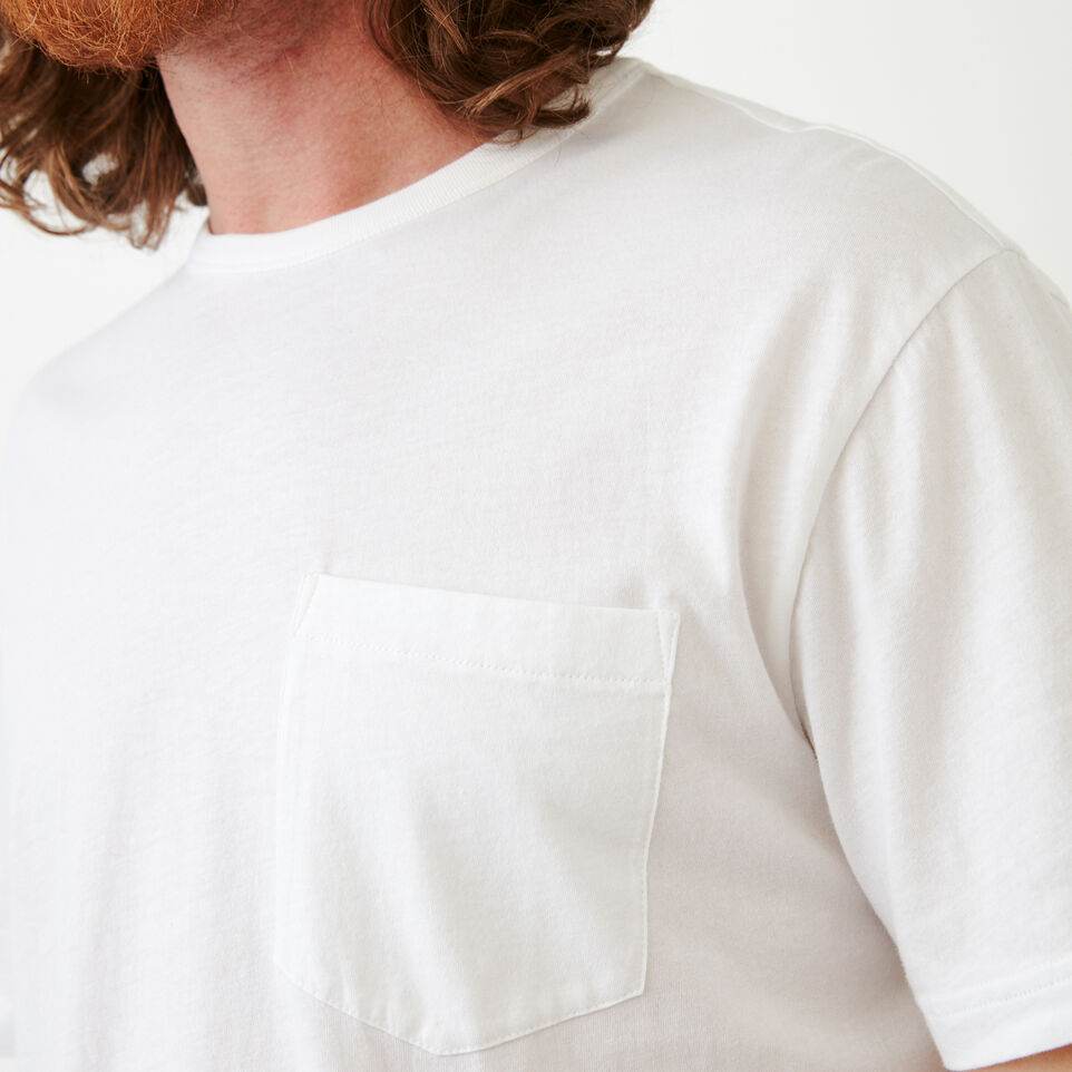 Roots-Men Our Favourite New Arrivals-Essential Pocket T-shirt-White-E