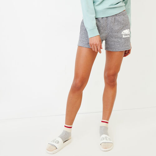 Roots-Women Our Favourite New Arrivals-Original Sweatshort-Salt & Pepper-A