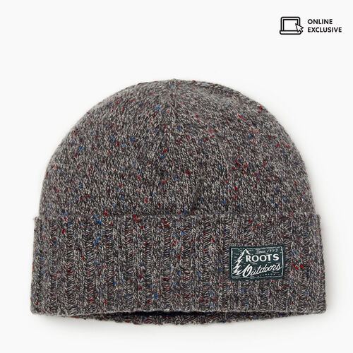 Roots-Men Accessories-Burnaby Toque-Heritage Grey Mix-A