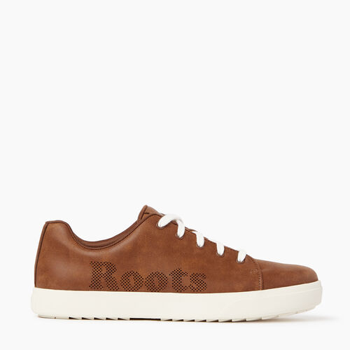 Roots-Women Footwear-Womens Rosedale Lace Sneaker-Natural-A