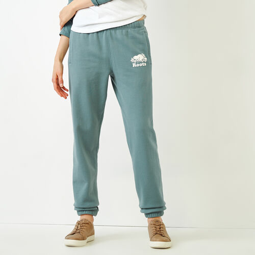 Roots-Women Sweatpants-Original Sweatpant-North Atlantic-A