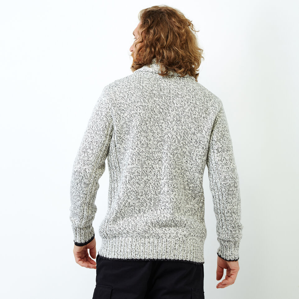 Roots-Men Our Favourite New Arrivals-Snowy Fox Zip Cardigan-Snowy Fox-D