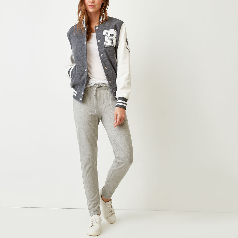 Roots-Women Our Favourite New Arrivals-Kelby Jogger-Grey Mix-B