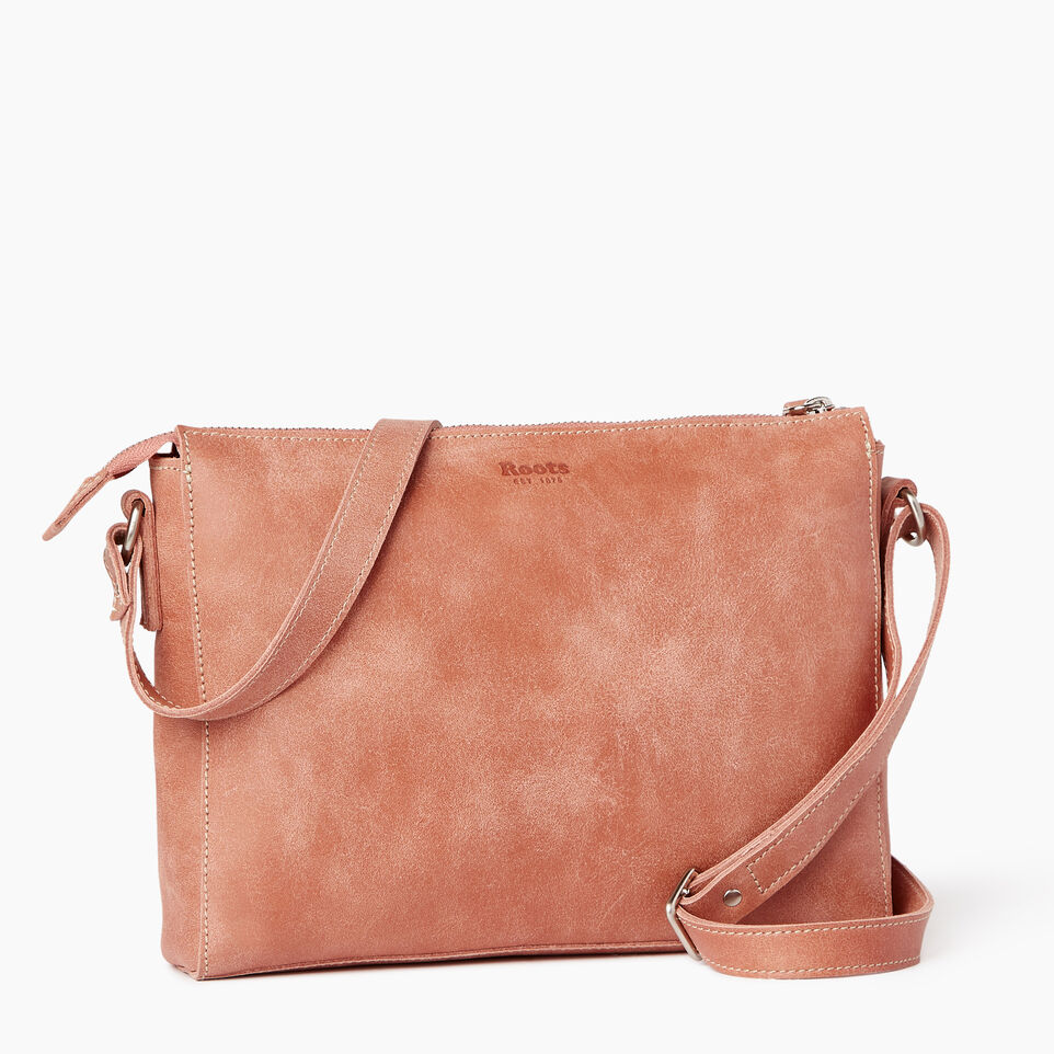 Roots-Leather Our Favourite New Arrivals-Robson Bag-Canyon Rose-C