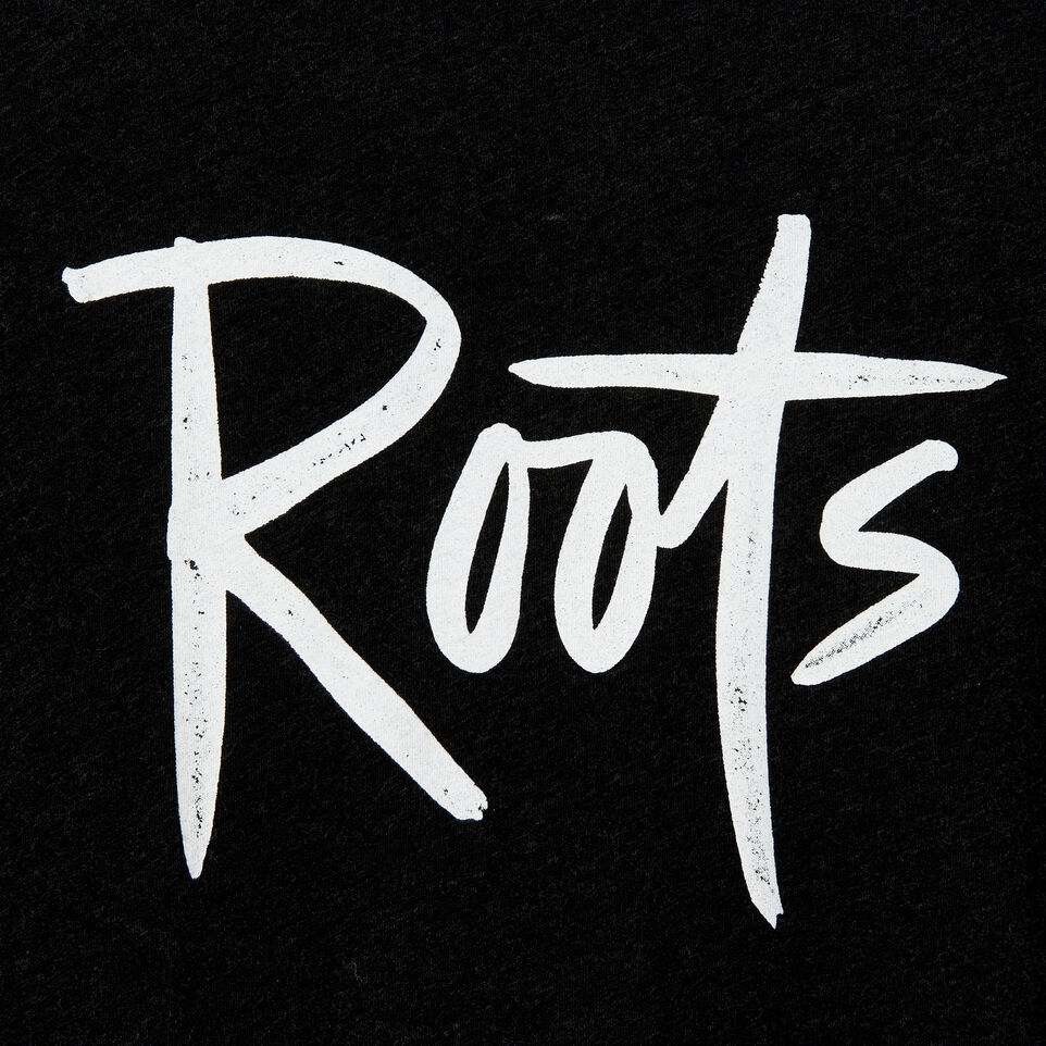 Roots-undefined-Mens Roots 73 Script T-shirt-undefined-D