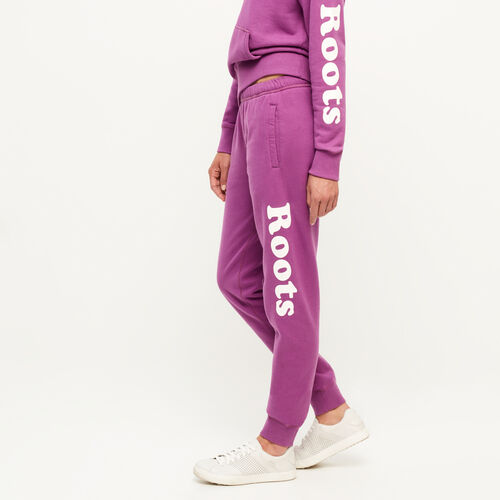 Roots-New For August Women-Remix Sweatpant-Hyacinth Violet-A