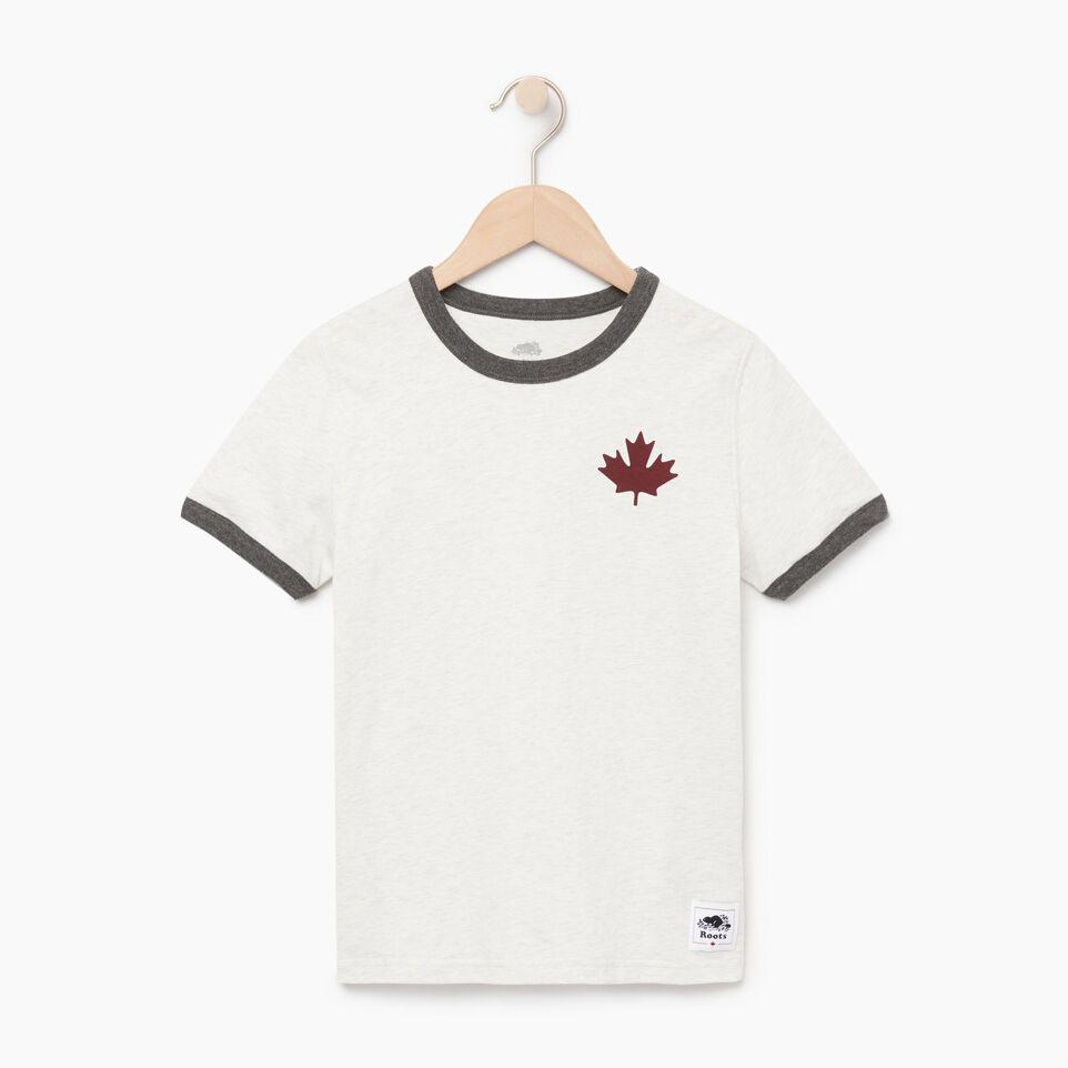 Roots-Kids Our Favourite New Arrivals-Boys Canada Cabin Ringer T-shirt-Wind Chime Mix-A