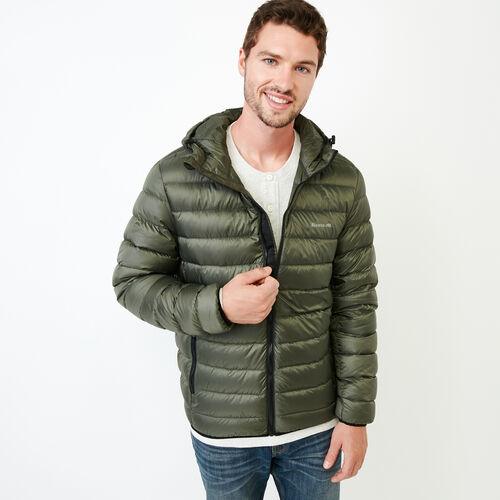 Roots-New For December Packable Jackets-Roots Packable Down Jacket-Loden-A