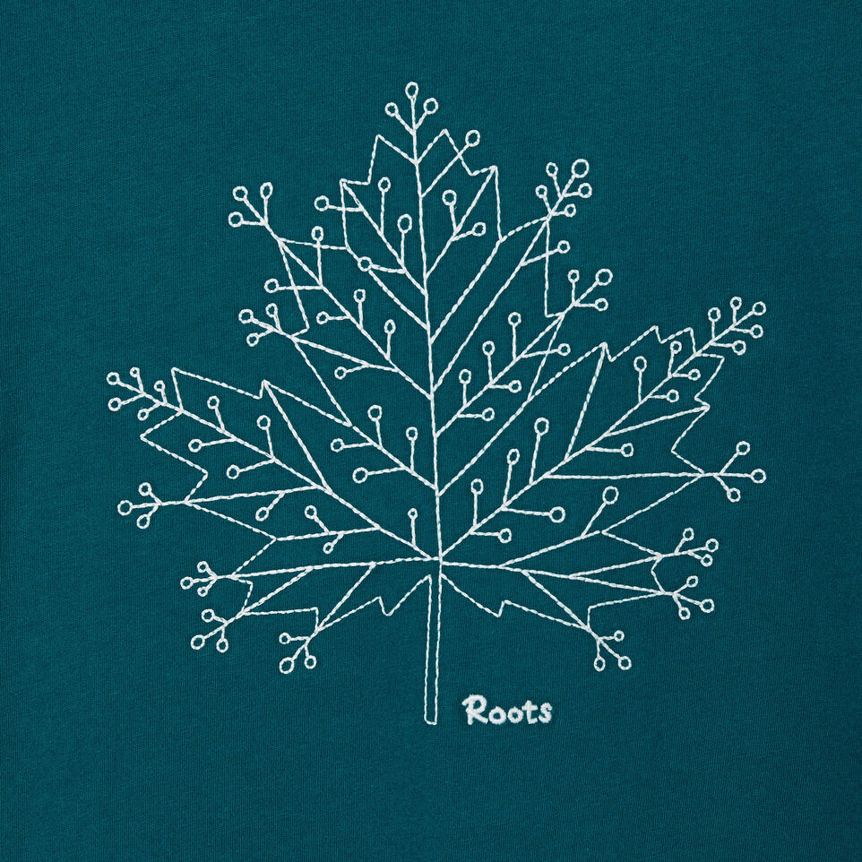 Roots-undefined-Womens Snowflake T-shirt-undefined-D