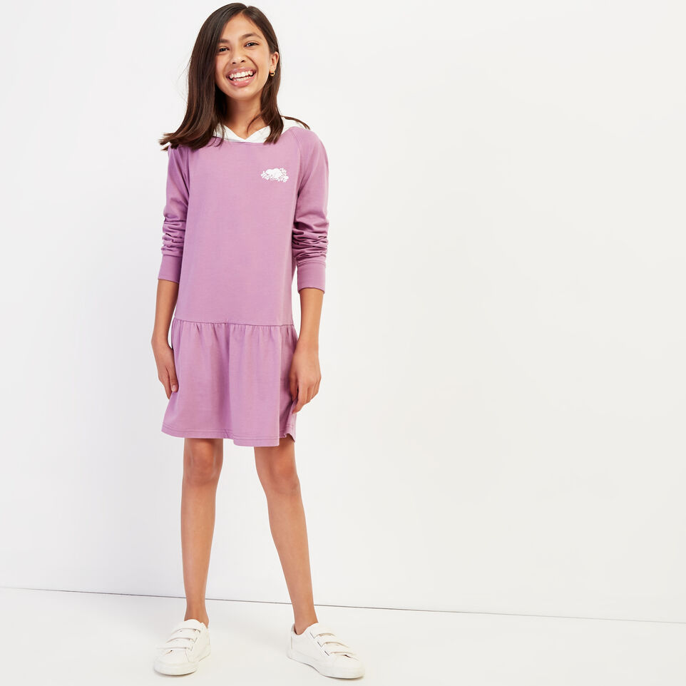 Roots-undefined-Girls Remix Hoody Dress-undefined-A