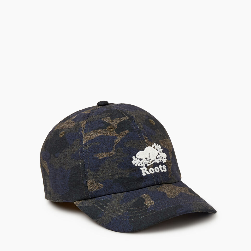 Roots-undefined-Kids Camo Baseball Cap-undefined-A