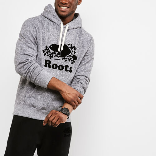 Roots-New For April Men-Roots Salt and Pepper Original Kanga Hoody-Salt & Pepper-A