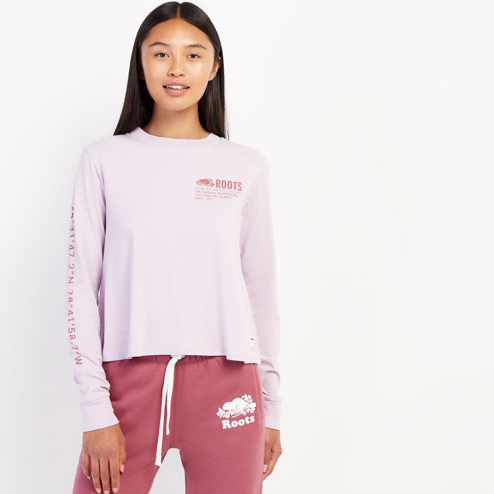 Roots-undefined-Womens Surplus Long Sleeve T-Shirt-undefined-A