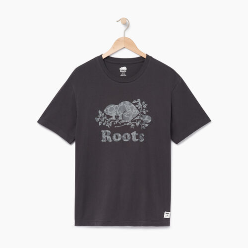 Roots-Men Categories-Mens Cooper Camp Fill T-shirt-Phantom-A