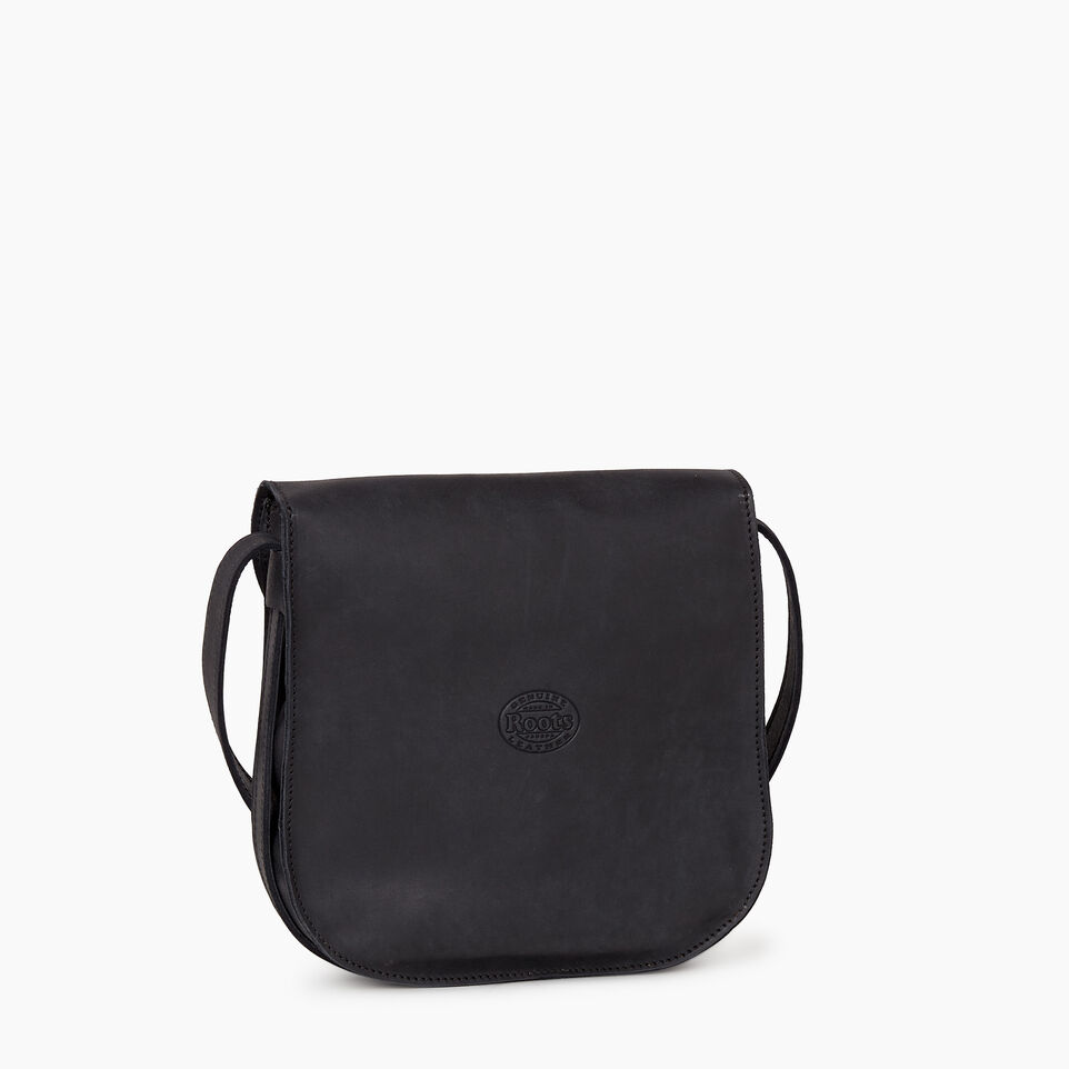 Roots-Leather  Handcrafted By Us Our Favourite New Arrivals-Lambert Bag-Jet Black-C