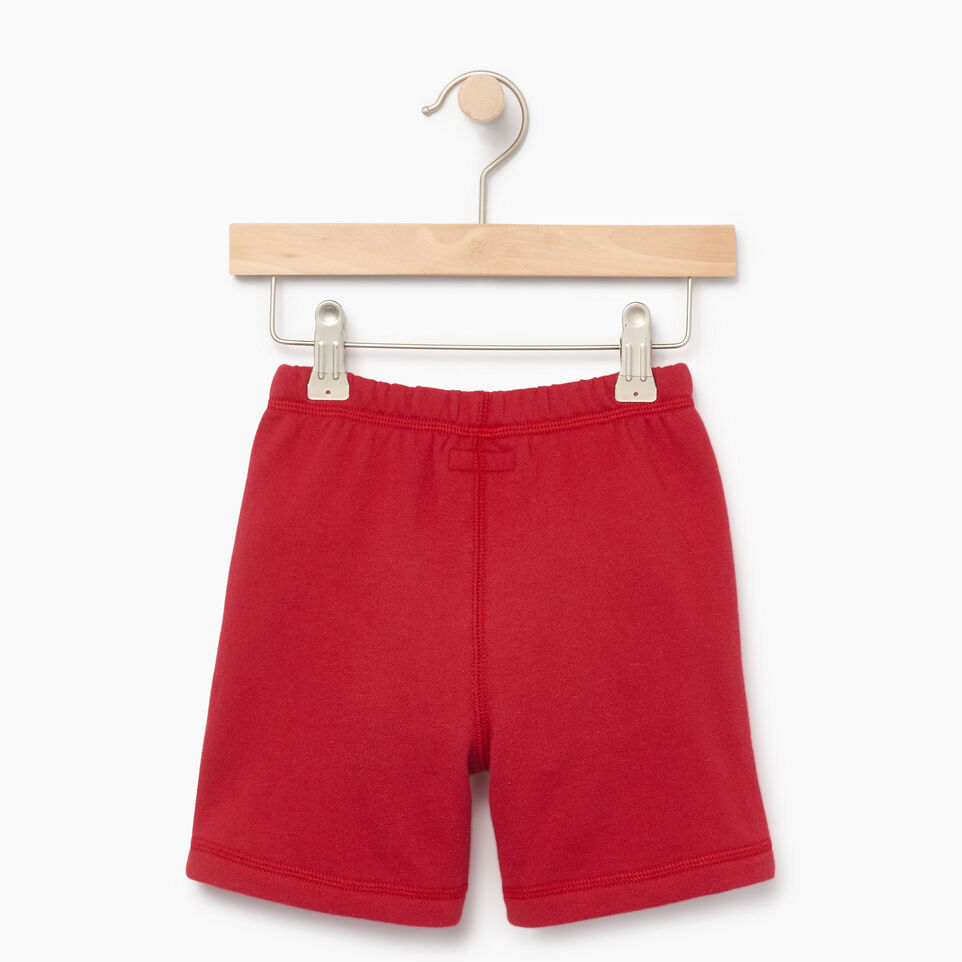 Roots-Kids Our Favourite New Arrivals-Toddler Canada Short-Sage Red-B