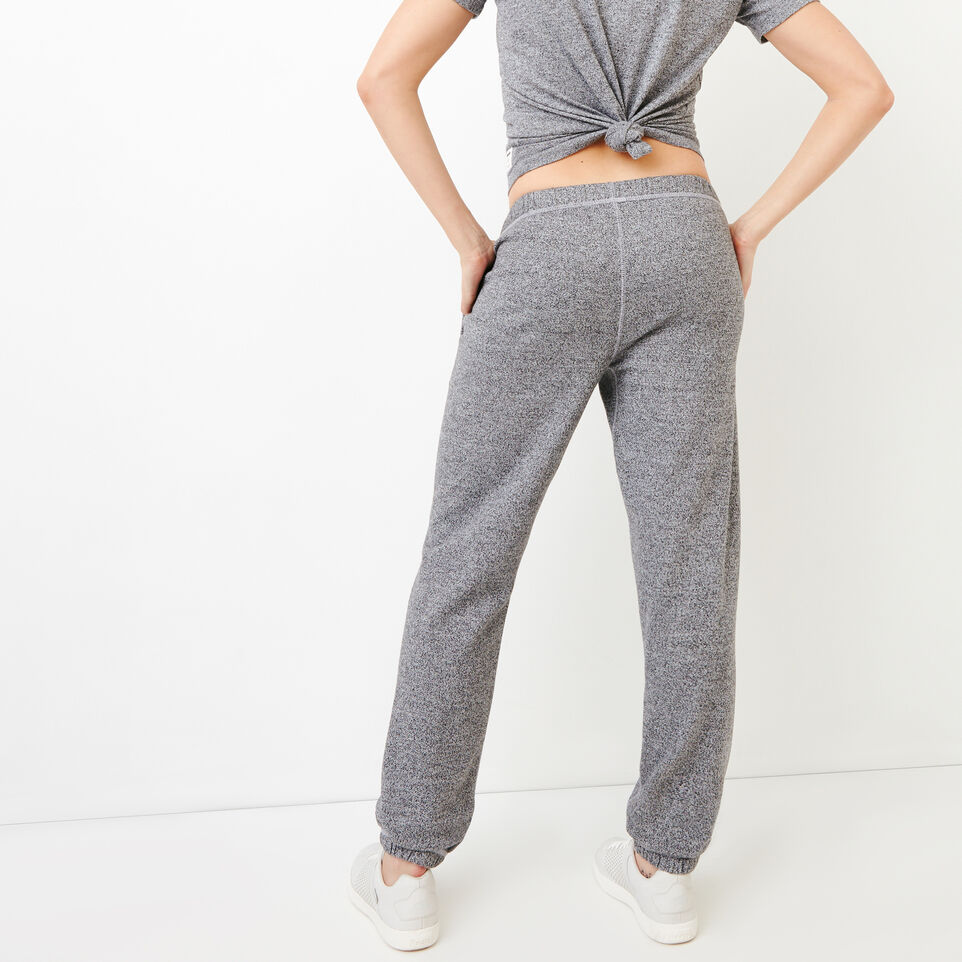 Roots-Women Original Sweatpants-Roots Salt and Pepper Original Sweatpant - Short-Salt & Pepper-D
