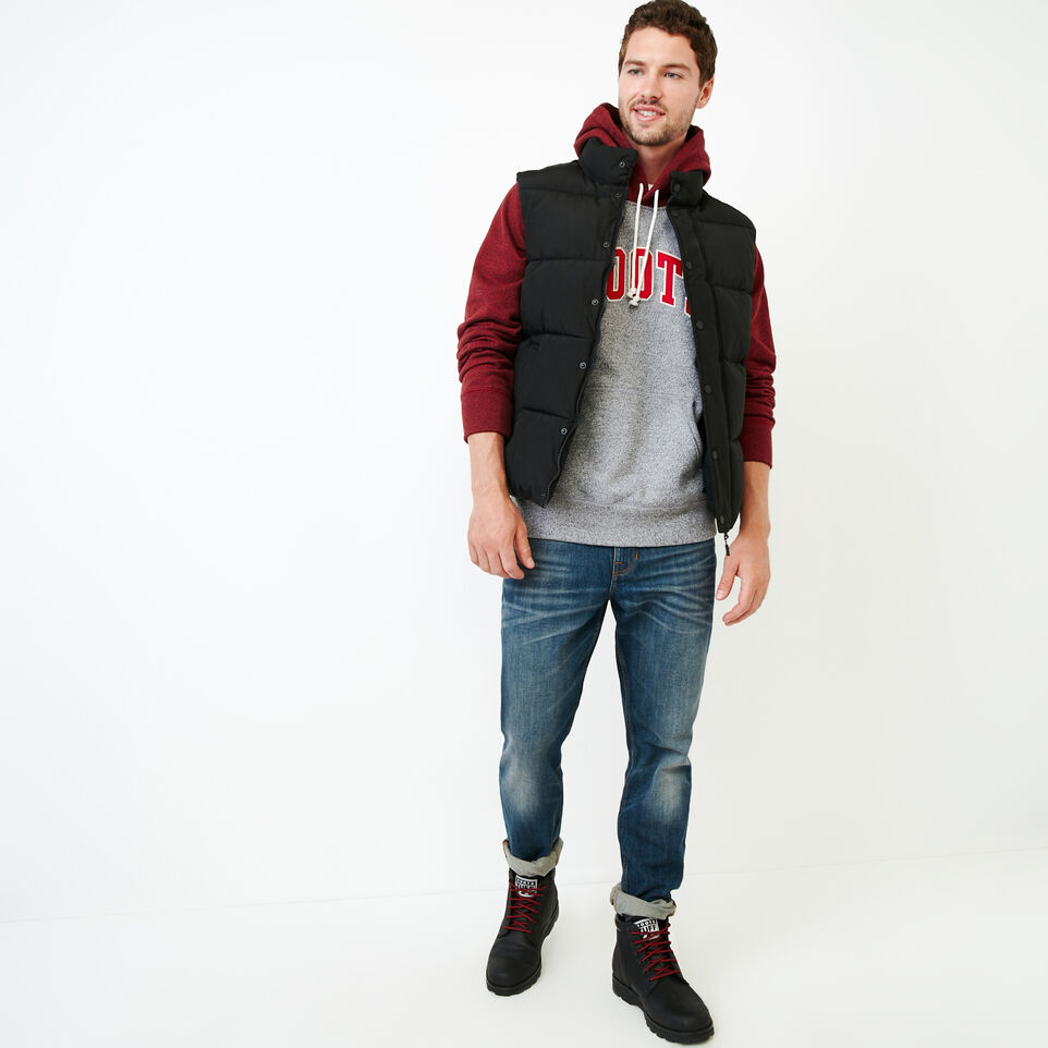 Roots-Men Our Favourite New Arrivals-Nova Scotia Block Hoody-Sage Red Pepper-B