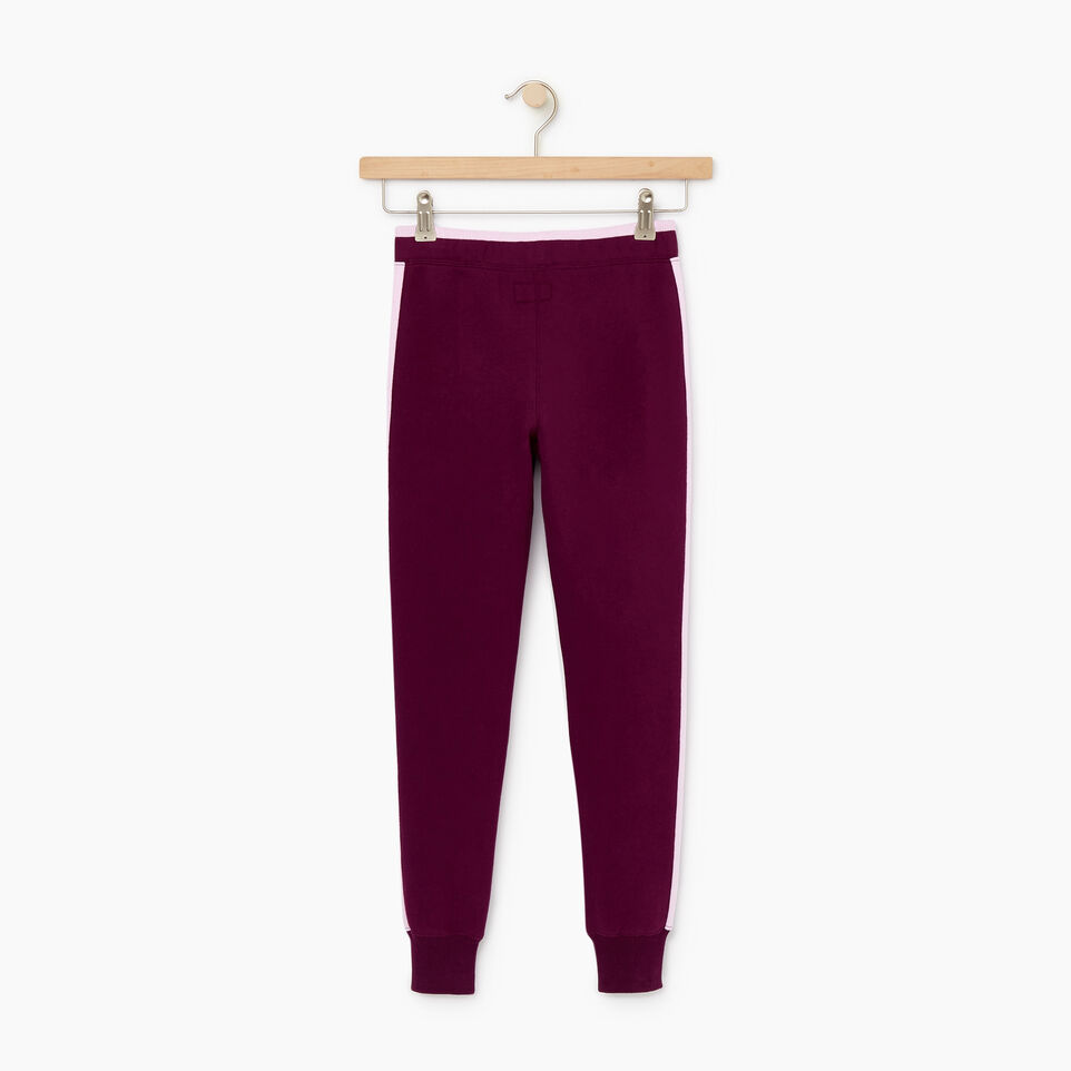 Roots-Kids New Arrivals-Girls 2.0 Jogger-Pickled Beet-B