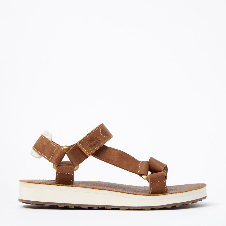Roots-undefined-Womens Tofino Sandal Leather-undefined-A