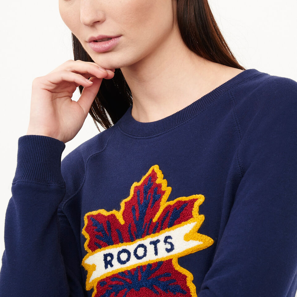 Roots-undefined-Heritage Leaf Crewneck-undefined-C
