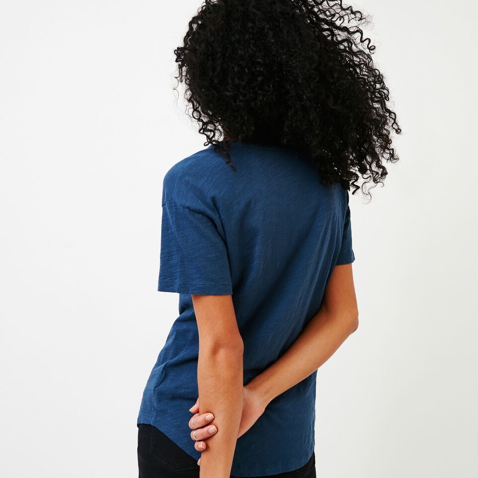 Roots-New For August Women-Savin Top-Sargasso Sea-D
