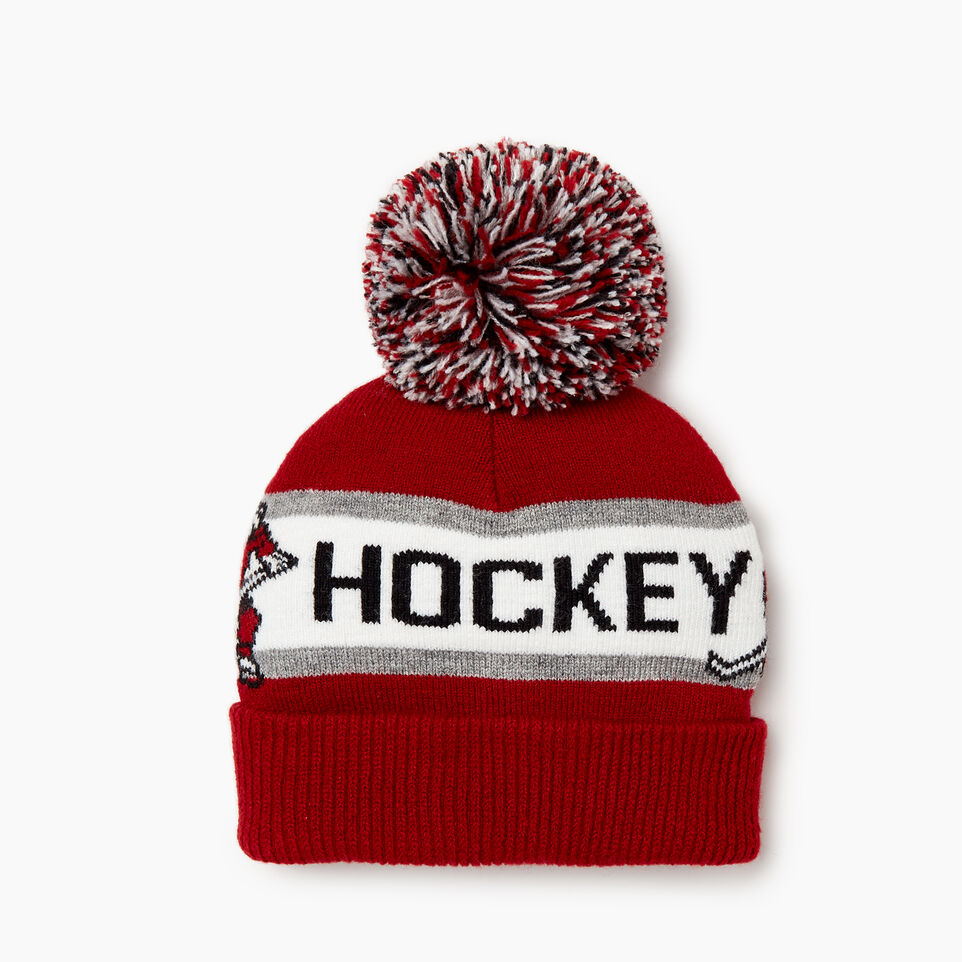 Roots-Sale Kids-Toddler Hockey Toque-Red-B