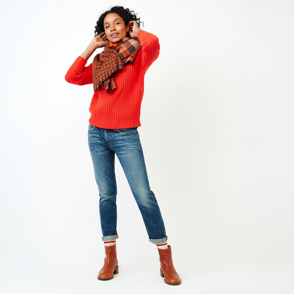 Roots-Women Sweaters & Cardigans-Ramore Sweater-Spicy Orange-B