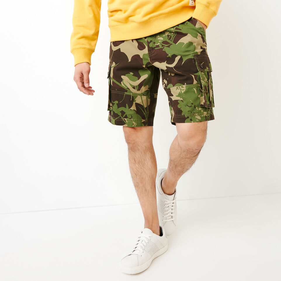 Roots-undefined-Burlington Camo Cargo Short-undefined-A
