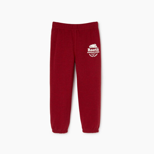 Roots-Clearance Kids-Toddler Laurel Sweatpant-Cabin Red Mix-A