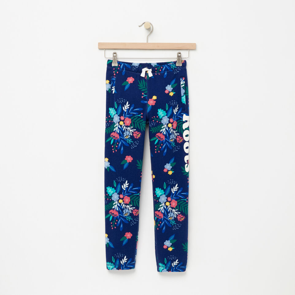 Roots-undefined-Girls Roots Remix Floral Sweatpant-undefined-A