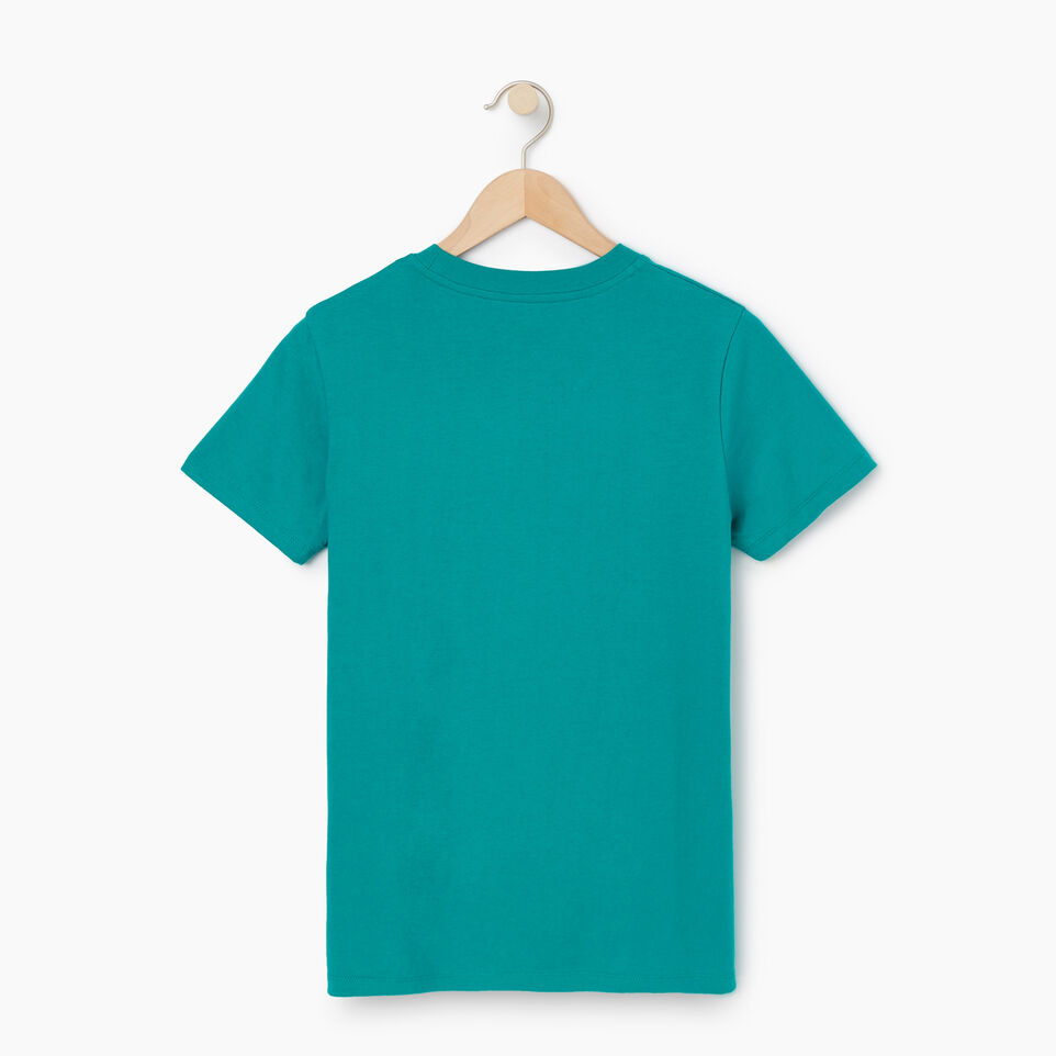 Roots-Women Our Favourite New Arrivals-Womens Cooper Beaver T-shirt-Dynasty Turquoise-B