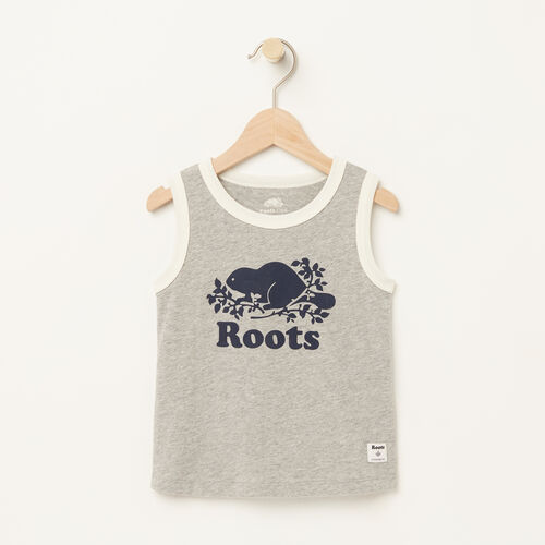 Roots-Kids Toddler Boys-Toddler Ringer Tank-Grey Mix-A