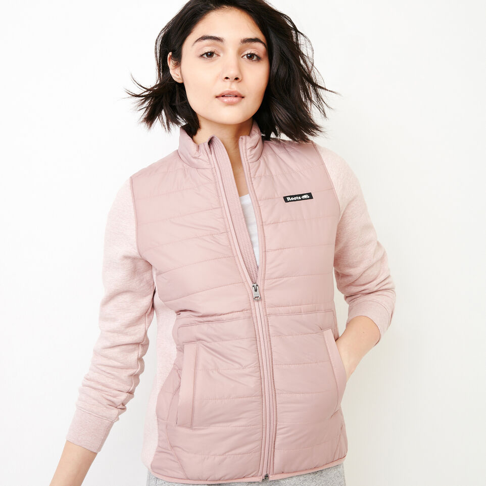 Roots-New For March Daily Offer-Roots Hybrid Jacket-Woodrose-A