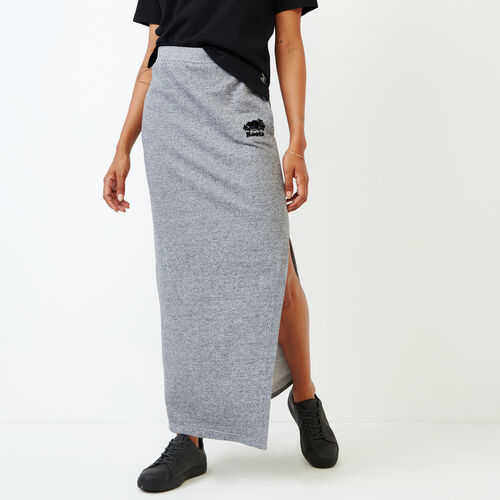 Roots-Women Our Favourite New Arrivals-Roots Salt and Pepper High Waist Skirt-Salt & Pepper-A