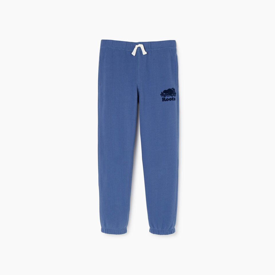 Roots-Kids Bottoms-Boys Original Sweatpant-True Navy-A