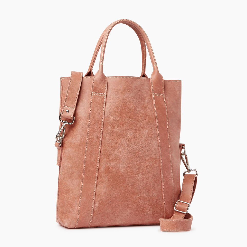 Roots-Leather Our Favourite New Arrivals-Annex Tote-Canyon Rose-C