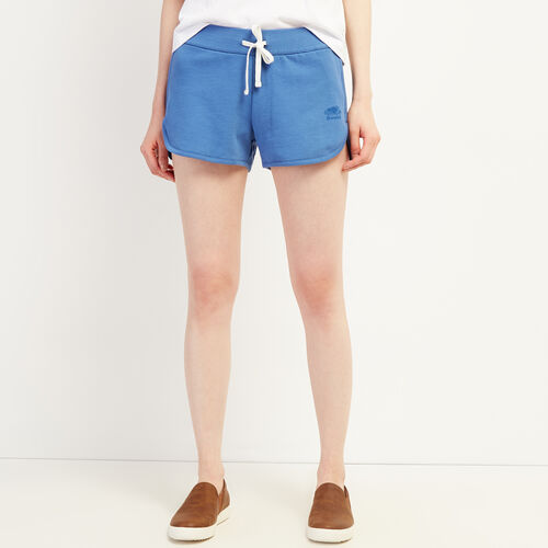 Roots-Women Clothing-Kawartha Running Short-Federal Blue-A