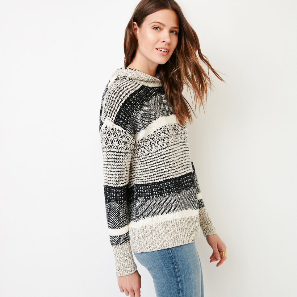Roots-Women Our Favourite New Arrivals-Ingram Hoody Sweater-Black Mix-C