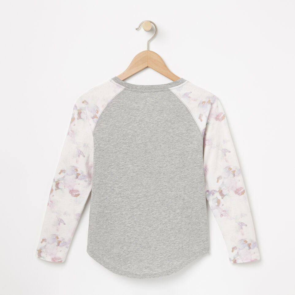 Roots-undefined-Girls Watercolour Raglan Top-undefined-B