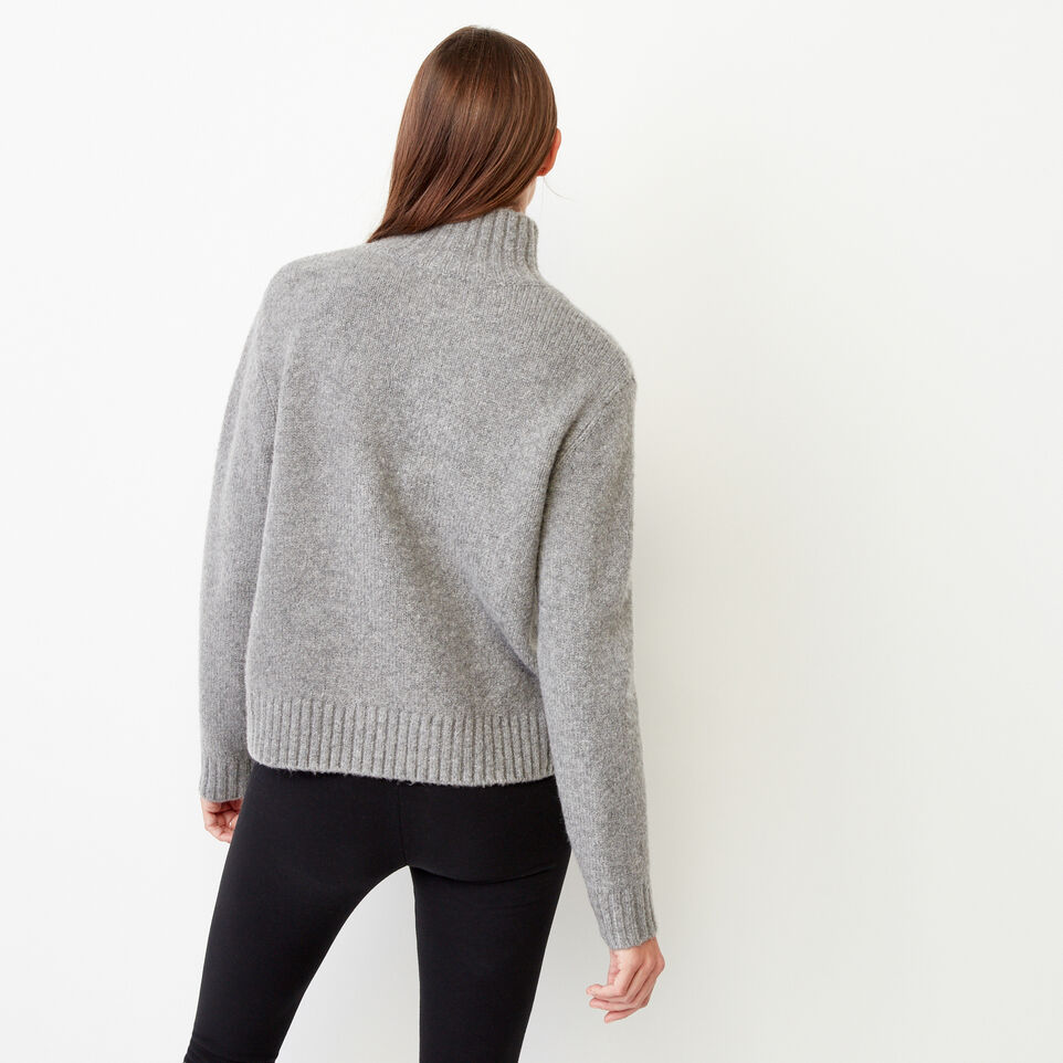 Roots-Women Our Favourite New Arrivals-Nita Cable Sweater-Grey Mix-D