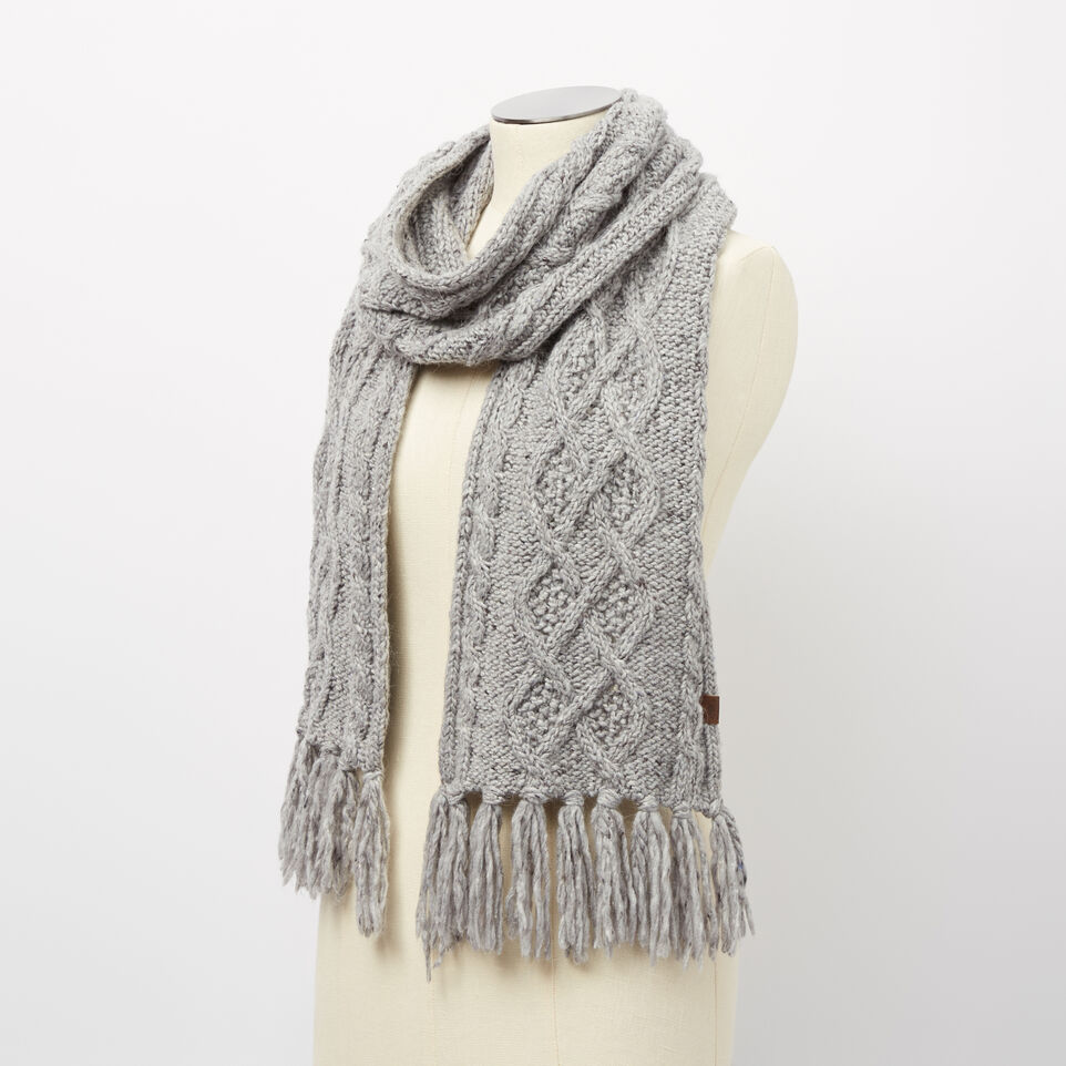Roots-undefined-Brigitte Cable Scarf-undefined-B