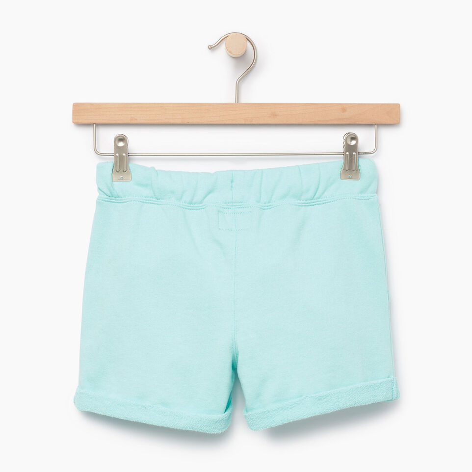Roots-Kids Our Favourite New Arrivals-Girls Roots Beach Short-Aruba Blue-B