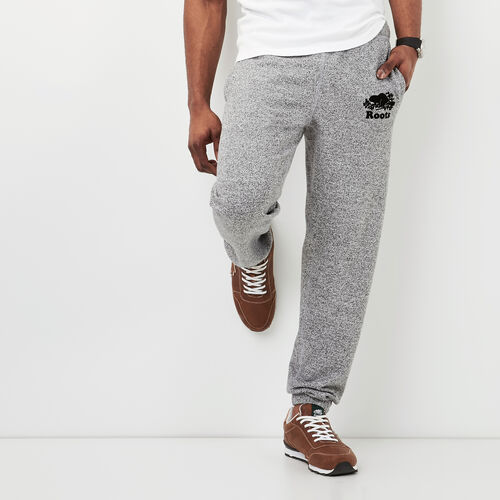 Roots-Men Original Sweatpants-Roots Salt and Pepper Original Sweatpant - Regular-Salt & Pepper-A