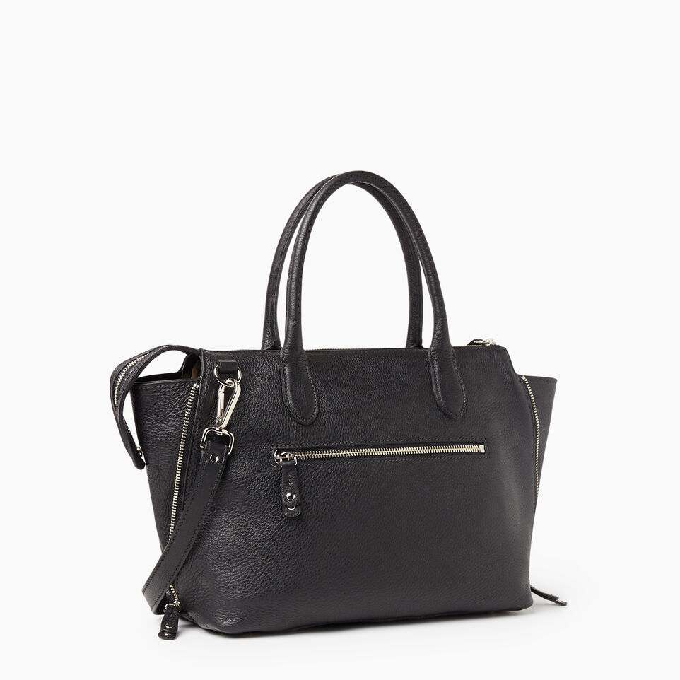 Roots-Leather New Arrivals-Arianna Bag Prince-Black-C