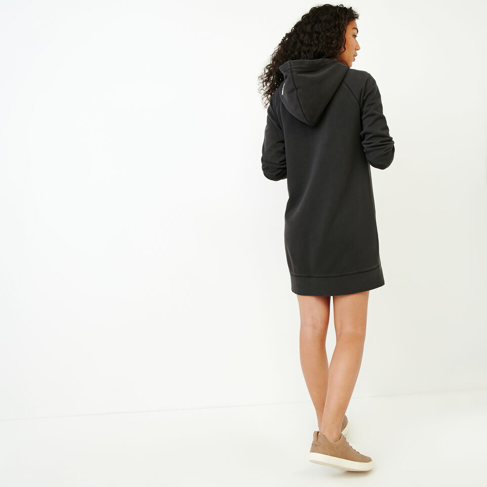Roots-Women Our Favourite New Arrivals-Garment Dyed Dockside Dress-Charcoal-D