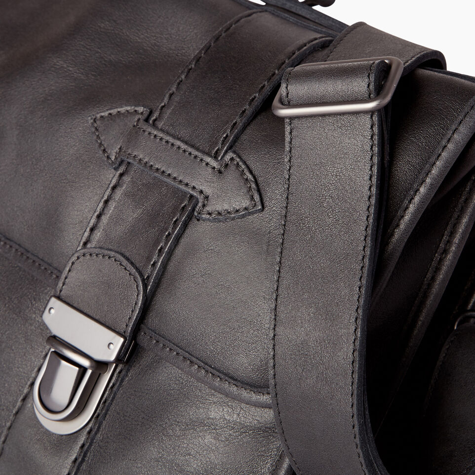 Roots-Leather  Handcrafted By Us Collections-Grad School-Jet Black-E