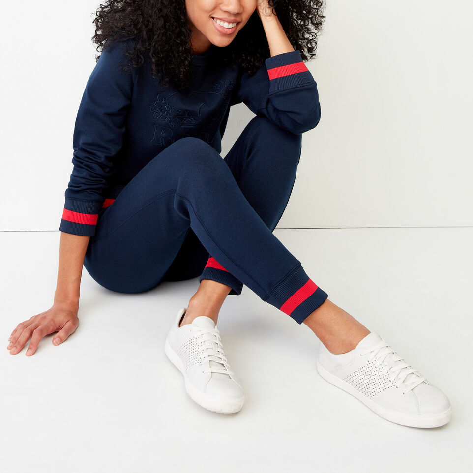 Roots-Women Our Favourite New Arrivals-Mahone Sweatpant-Navy Blazer-B