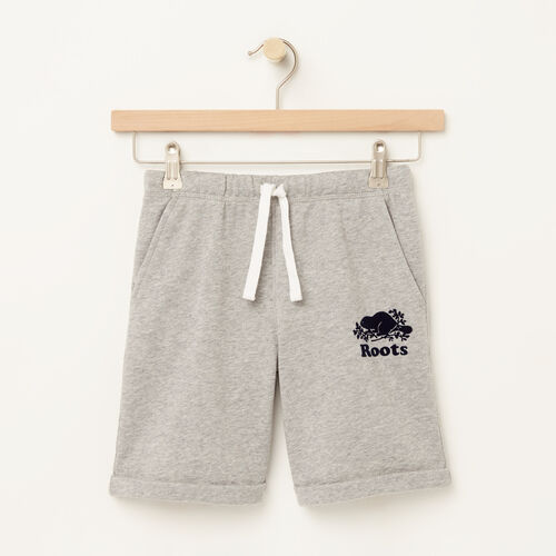 Roots-Sale Boys-Boys Jasper Short-Grey Mix-A